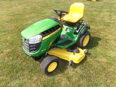 John Deere D170 Riding Lawn Mower  Buy online at: http://www.muttonpower.com/store/p-8885-john-deere-d170-lawn-tractor.aspx
