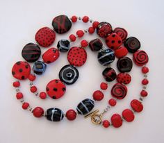 Kazuri Beaded Necklace Ceramic Necklace  Fair by lizbriggsdesigns, $78.00  etsy.com