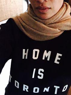 Home is Toronto Toronto, Turtle Neck, Future, Sweatshirts, Sweaters, Home, Fashion, Moda, Future Tense
