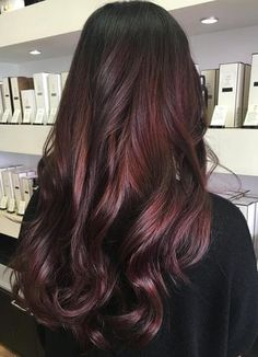 Dark Burgundy Hair Color More