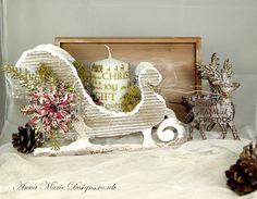 MDF sleigh by Anna Marie Designs