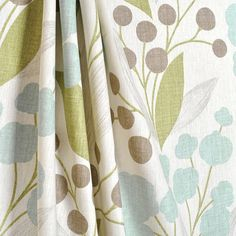 olive green and gray shower curtain | ... Treatments - Drapery Panels, Roman Shades, Shower Curtains, & Pillows