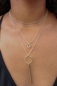 Castaway Layered Necklace
