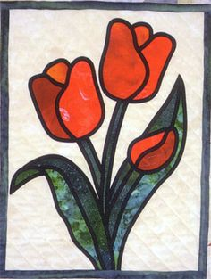 Stained Glass Flower Garden from Brenda Henning& Bear Paw Productions