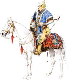 Siberian Khanate noble warrior, 16th century