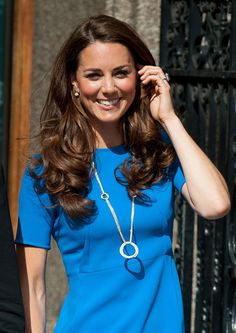 Kate Middleton At The National Portrait Gallery In London