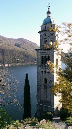 Morcote - S. Maria del Sasso. Ticino. Switzerland.