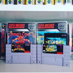 Well not quite #CIBSunday this pic more like #CustomCaseMonday  eh? 2 of my most valuable SNES games hands down.
