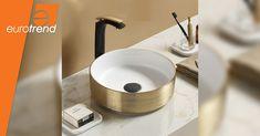 Basin Design, Basins, Gold Wire, Personality, Eye, Bathroom, Stylish, Home Decor, Washroom