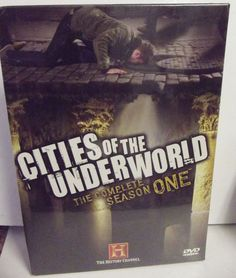 Sold!!  Cities of the #Underworld The Complete #Season One DVD 4 Disc Set 2007 NWOT OOP
