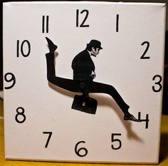 The Ministry of Silly Clocks, fun timepieces based on the classic Monty Python sketch | Dangerous Minds