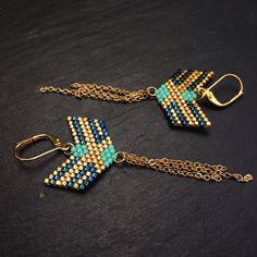 Nouvelles BO déclinées en variation de bleu et doré....j'aime beaucoup ce modèle...il donne vraiment un joli effet..simple et chic... Commande spéciale pour une amie...