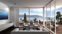 Luxury apartments in virgin nature of Italia