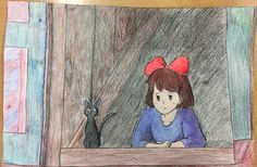 Second independent study project   Kiki's Delivery Service