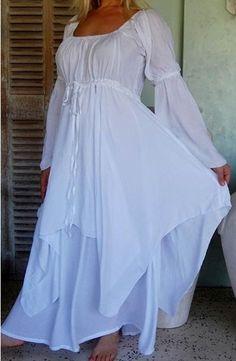 Boho Peasant Dress