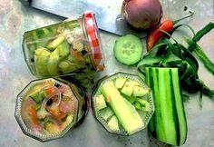 Salatgurken einlegen ohne kochen