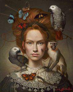 Yana Movchan, 1971 | Magic Realism painter | Tutt'Art@