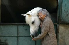 You're never too old to love a horse!