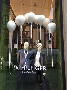 1aff654f9889 A long-time client we have is Tommy Hilfiger and their white balloons  windows produced