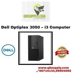 Dell Optiplex 3050 – i3 Computer Specification: Intel Core i3 (7th Generation) 3.9Ghz Processor 4GB DDR-4 Memory 500GB SATA Hard Drive DVD-Writer Dell... - q8 supply - Google+