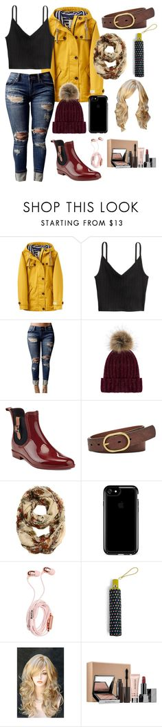 """Rainy days: Favorite Set #1"" by baillie-ann ❤ liked on Polyvore featuring Joules, H&M, WithChic, Accessorize, Henry Ferrera, FOSSIL, Speck, Vera Bradley, Sephora Collection and contest"