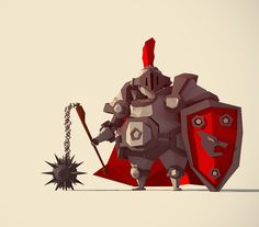 Lowpoly Characters on Behance