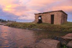 Die secret lagoon in Island