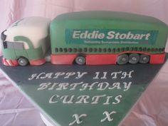 Eddie Stobart birthday cake x