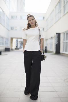 #EmmaElwin working minimalist monochrome. Stockholm. #EmsEdge