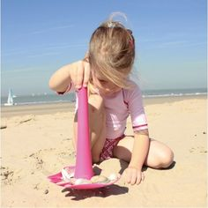 Quut - Triplet 3 in 1 Beach Toy Pink - Christmas Catalogue - Our Products - Entropy Australia - one toy; multiple possibilities. What's not to love?! #Entropywishlist #pintowin