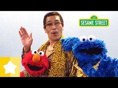 セサミストリート: CBCC (Cookie-Butter-Choco-Cookie) クッキー・バター・チョコ・クッキー フルバージョン/ピコ太郎、エルモとクッキーモンスター - YouTube