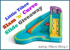Little Tikes Slam 'n' Curve Slide Giveaway! – Parenting | Life Style | Reviews