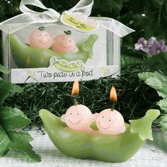 Twin Baby Shower Favor