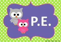 Owl theme posters :)