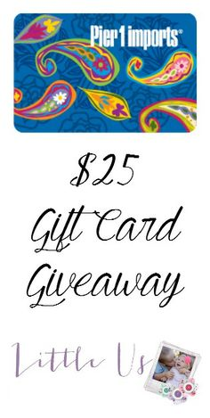 Pier 1 Imports Gift Card Giveaway #MC #Sponsored #Pier1OutdoorParty