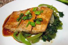 8 minute teriyaki salmon