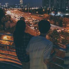 Des nuits romantiques sur les toits restera toujours dans la mémoire ❤