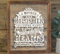 'Hold their hearts forever' gift for mothers