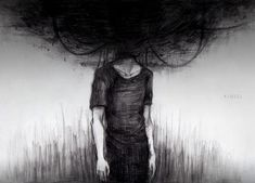 Featured artwork of depression is by Ajgiel