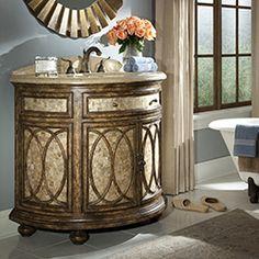 "40 ½"" Tiffany Sink Chest Bathroom Vanity 06702-110-400 #BathroomRemodel #BlondyBathHome #BathroomVanity  #TraditionalVanity"