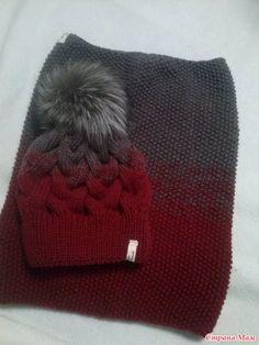 Es el momento de ser calentado por el invierno. Tejer kits de abrigo en  línea. 94ed9cbabd9