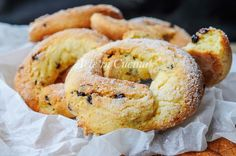 Ciambelle dolci con patate zuccherate biscotti veloci