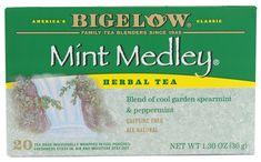 Bigelow Tea Herbal Tea Mint Medley® Spearmint and Peppermint -- 20 ...