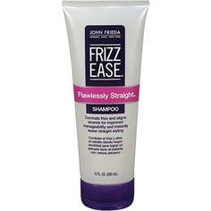 10 Best Straightening Shampoos - #2 John Frieda Frizz Ease Flawlessly Straight Shampoo #rankandstyle