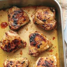 Easy Roasted Chicken Thighs