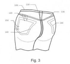 Inventos - patentes - Prenda de vestir levanta gluteos - 3