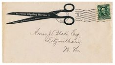 #envelope #scissors