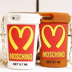 Newest For iphone5s case Cute Moschino Cola Cup Silicon Case for Apple i phone 5 Kawaii Back Cover 1 piece Free Shipping