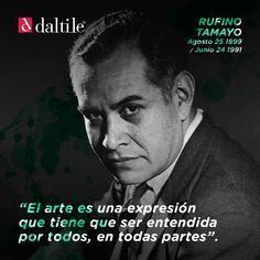 Hoy recordamos de manera muy especial a Rufino Tamayo, pintor mexicano con suma influencia en arquitectos alrededor del mundo.   Fue uno de los primeros artistas latinoamericanos en obtener reconocimiento y difusión de sus obras de manera internacional.  Siempre presente, nunca olvidado.