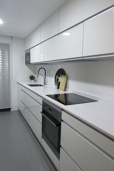 Kitchen designs modern 461056080577279591 – Home Decor – womenstyle. Luxury Kitchen Design, Kitchen Room Design, Kitchen Cabinet Design, Home Decor Kitchen, Interior Design Kitchen, New Kitchen, Home Kitchens, Modern Kitchen Cabinets, Kitchen Trends